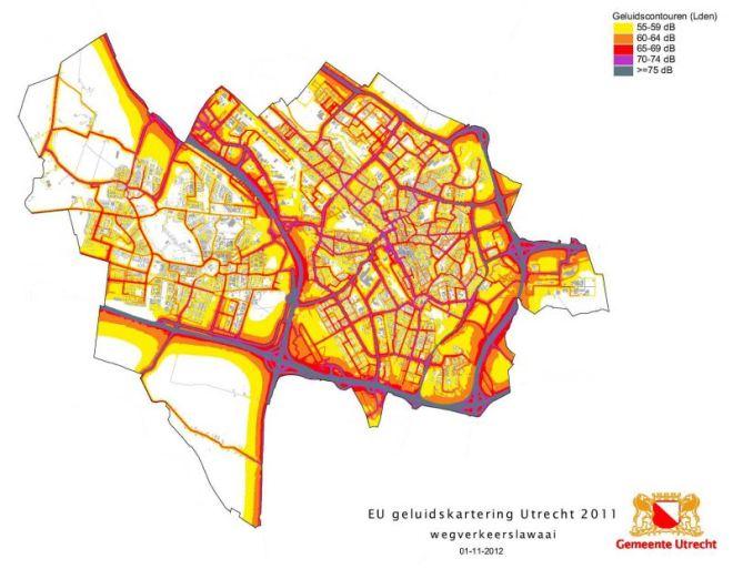 Geluidskaart_Utrecht_2012