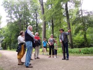 Excursie met rentmeester Joop Spaans door het Trapeziumbos van Oud Amelisweerd