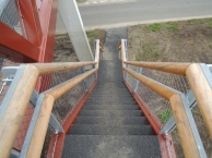 Steil naar beneden