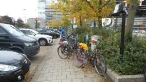 De 31 fietsklemmen in oktober 2013