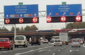 80km-zone in Amsterdam