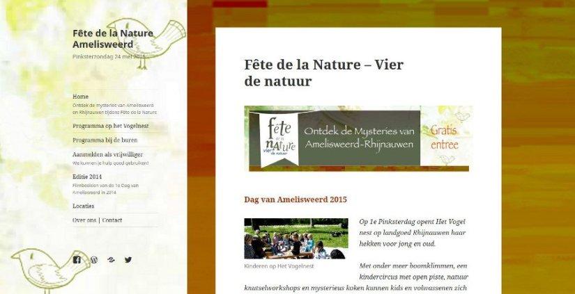 Fête de la NatureAmelisweerd