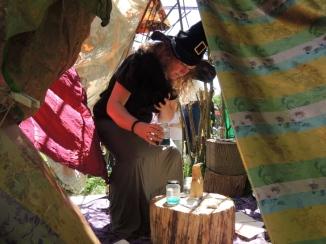 In de tent van de heks