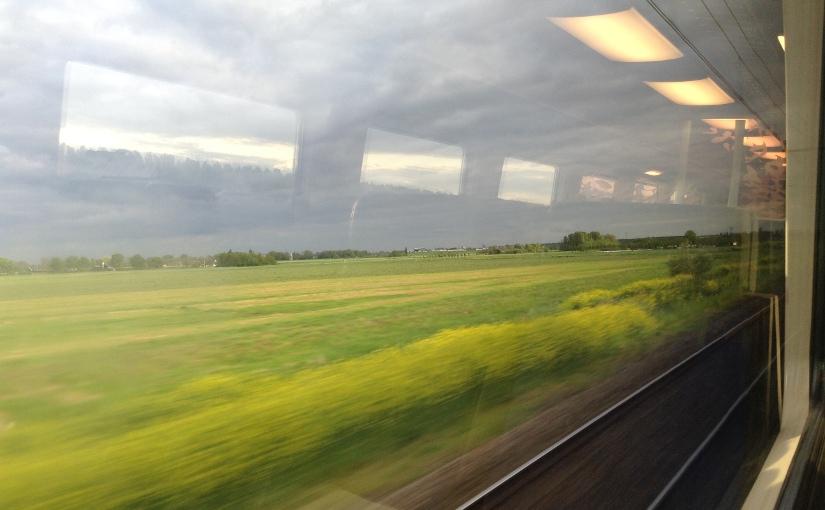 Plastuit, moord en LSD#treinleven